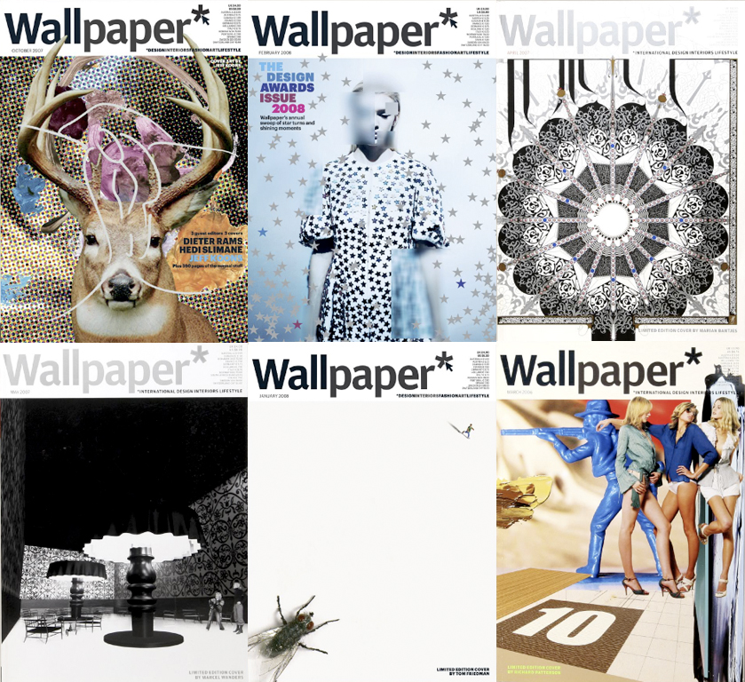 wallpaper magazine photos. Wallpaper magazine