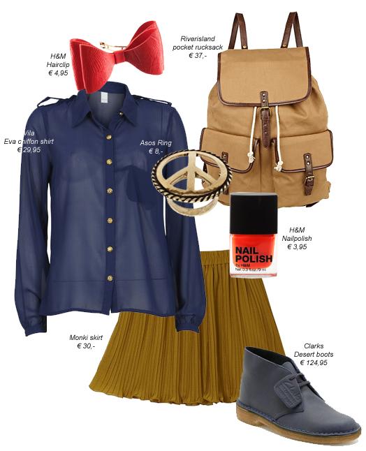 College look - kaj obleči v šolo, na faks?