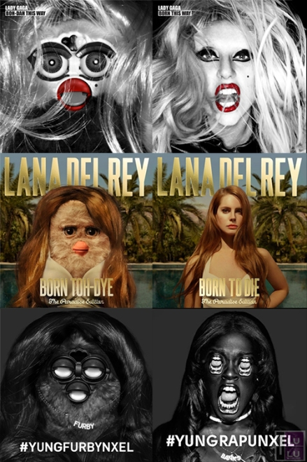 furby_living_design_cd_cover_lady_gaga_lana_del_rey_yungrapunxel