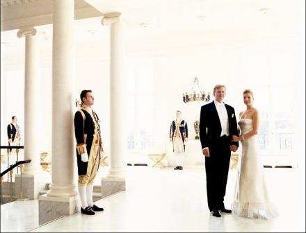 New soon to be King Willem-Alexander- Prince of Orange and Her Majesty Queen Máxima Zorreguieta- Photo by Mario Testino.