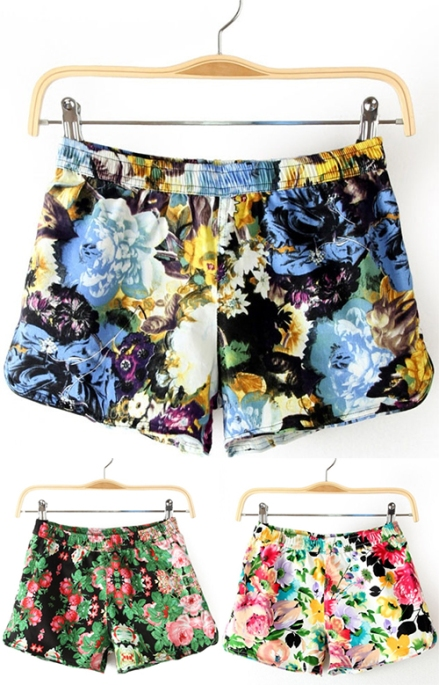 Shorts_print_summer_flowers_fashion_sheinside_webshop