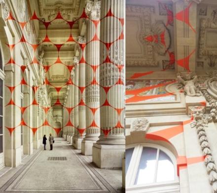 felice-varini-at-the-grand-palais-art-red