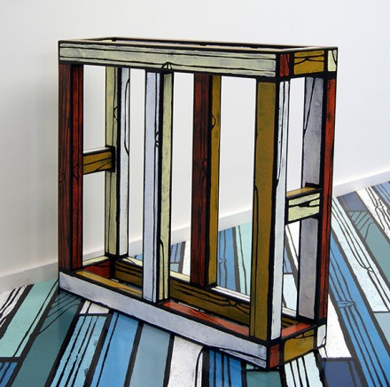Richard-Woods-Artist-colorful-pattern-cartoon-design-furniture