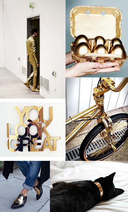 all-gold-everything-bday-fashion-chanel-bike-eggs