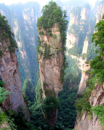 amazing-places-Tianzi Mountains, China