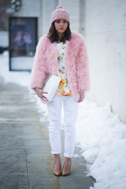 new-york-fashion-week-fall-winter-2014-street-style-powder pink