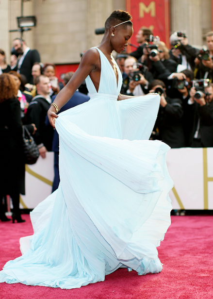Lupita Nyong'o on winning Best Supporting Actress!