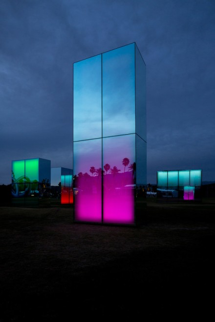 Reflection-Field-Coachella-Phillip-K-Smith-installation-architecture-design-mirror-led-nighttime