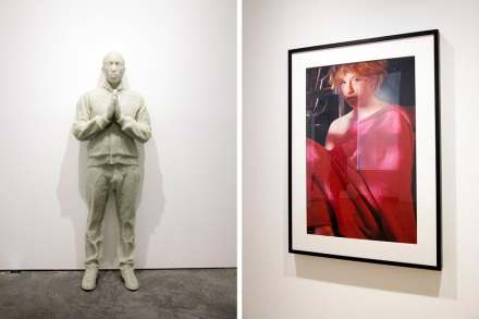 pharrell-williams-girl-exhibition-perrotin-STATUE-BEELD-ART-HIMSELF