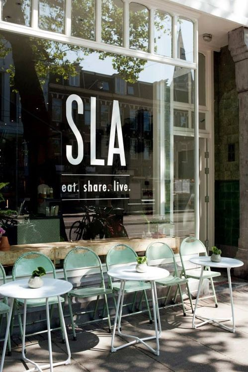 SLA-vanwoustraat-store-restaurant-bar-healthy-amsterdam-interior- ...