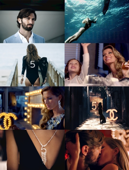 Actor-Baz-Luhrmann-Chanel-commercial-Director-Film-Gisele-Bundchen-Michiel-Huisman-model-Moulin-Rouge-N05