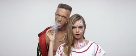 die-antwoord-ugly-boys-cara-delevingne-videoclip-music-ninja-2014